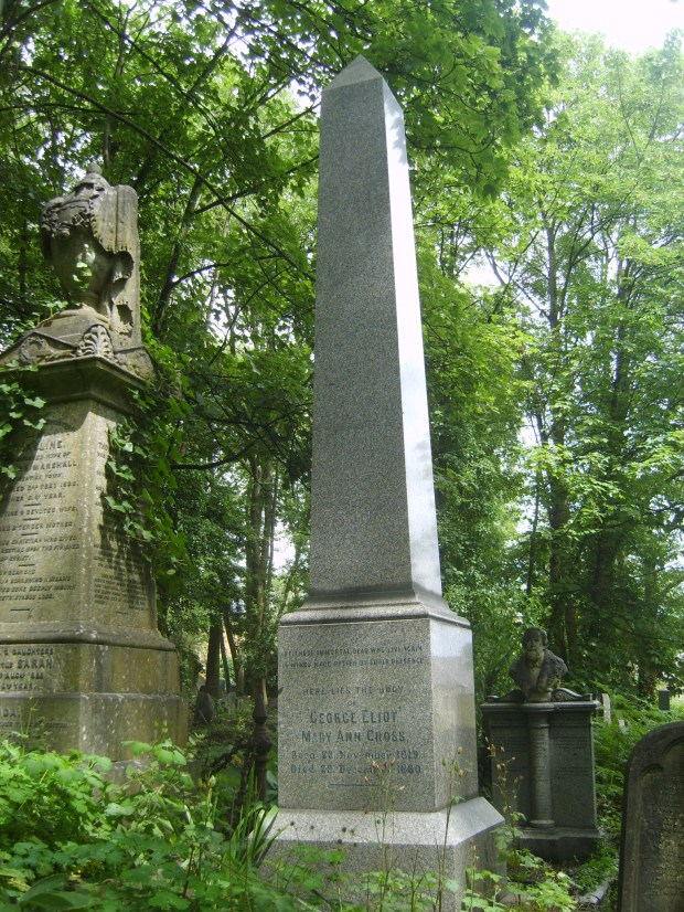 george eliot grave