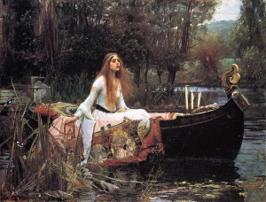 J.W. Waterhouse 'The Lady of Shalott'