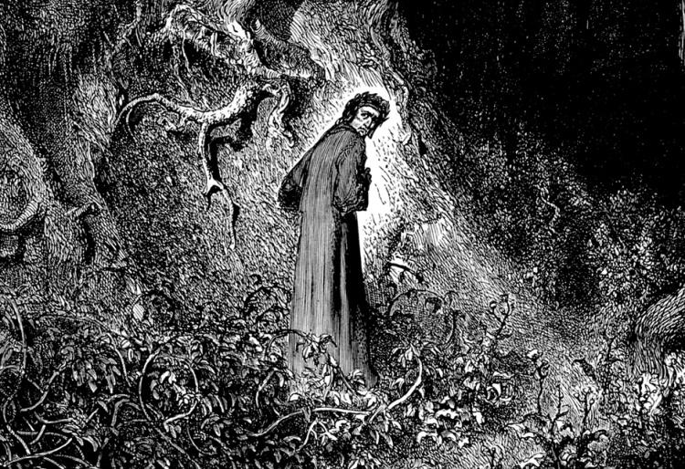 dante inferno woods