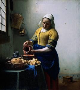 'The Kitchen Maid' Vermeer