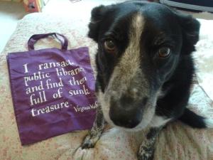 Virginia Woolf book bag Boo