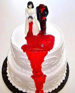 beheaded groom cake