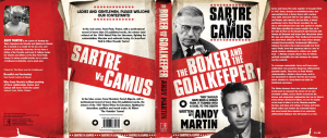 Camus, Sartre, Boxer vs Goalkeeper