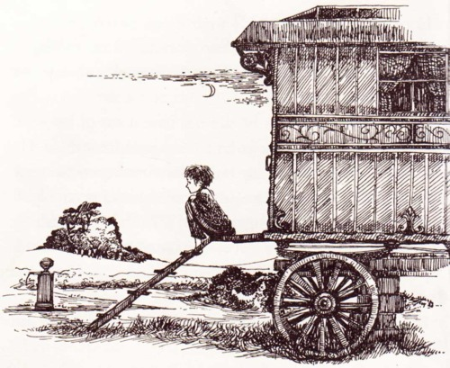 Roald Dahl danny, champion of the World, gypsy caravan