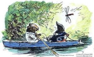 rat and mole boating the wind in the willows kenneth Grahame