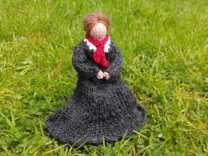 Knitted Charlotte Bronte