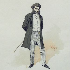 Mr Murdstone, charles Dickens, david Copperfield