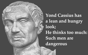 julius caesar Cassius