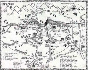 Malgudi map R.K. Narayan