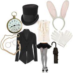 white rabbit fashion