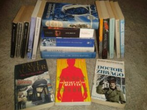 secondhand books, book haul, oxfam bookshop,