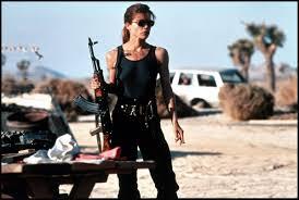 Sarah Connor, Terminator 2, Pamela