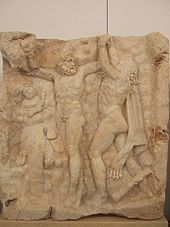Heracles frees Prometheus
