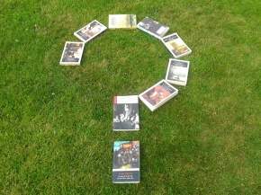question mark of books