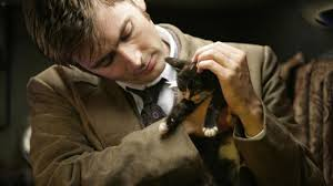 sexy david tennant with a kitten Doctor Who