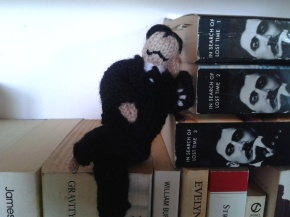 knitted Marcel Proust