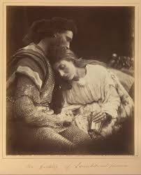 Julai margaret cameron Guineviere and Lancelot