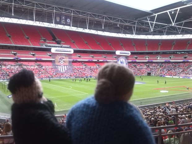 Marcel proust and Virginia Woolf go to Wembley
