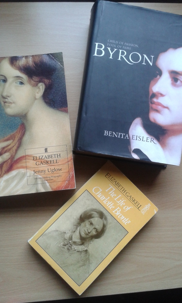 byron, gaskell and bronte biographies