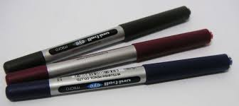 Uniball gel pens