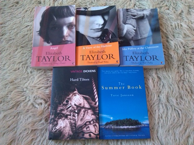 Elizabeth Taylor book haul
