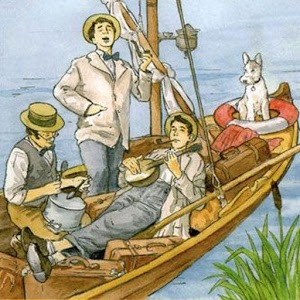 three men in boat Free pdf, epub, kindle ebook fully illustrated three men in a boat (to say nothing of the dog), published in 1889, is a humorous account by english writer jerome k jerome of a boating holiday on the thames between kingston and oxford.