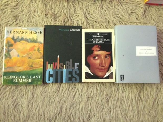 #20 books Italy
