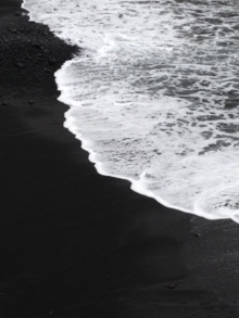 tenerife monochrome beach